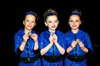 East Midlands Dance Festival 2016 - Sunday Medals - 8 May
